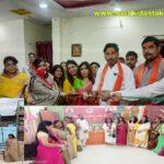 केसरिया हिन्दू वाहिनी महिला मोर्चा प्रदेश कार्यालय (इन्दौर )का शुभारंभ-