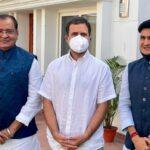 उत्तराखंड के मंत्री यशपाल आर्य, विधायक संजीव आर्य ने छोड़ी भाजपा, कांग्रेस में हुए शामिल